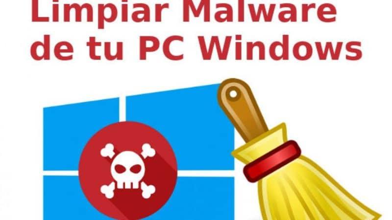 limpiar las ventanas de malware