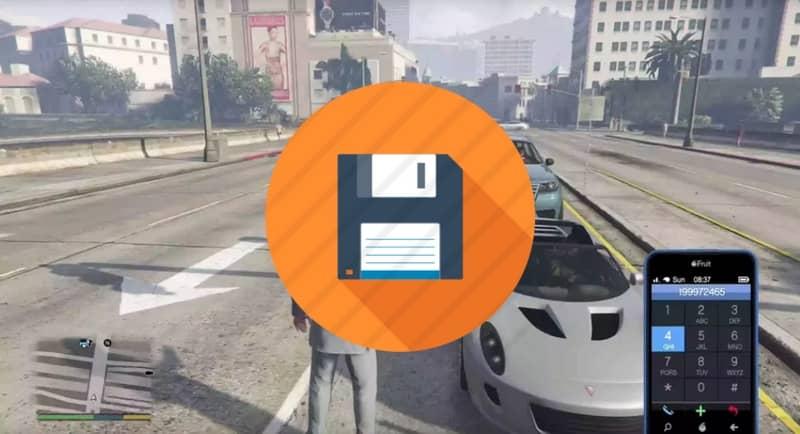 Guarda el juego en GTA 5