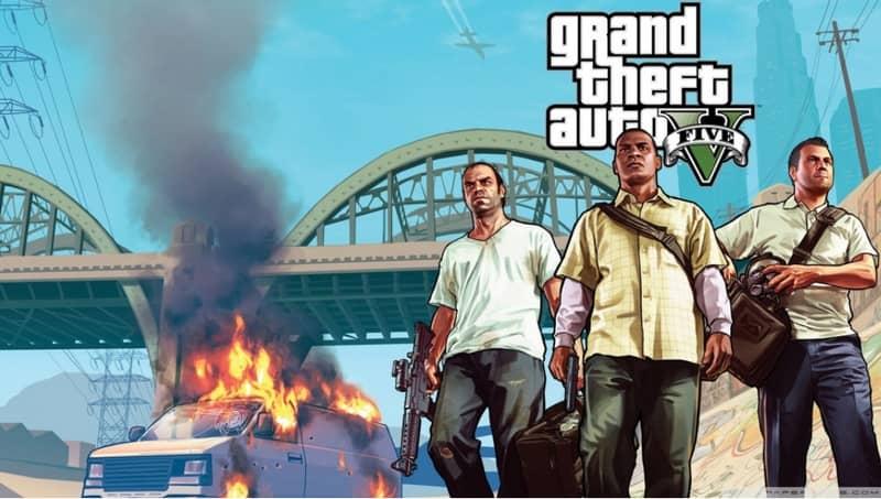 Los personajes de GTA se iluminan