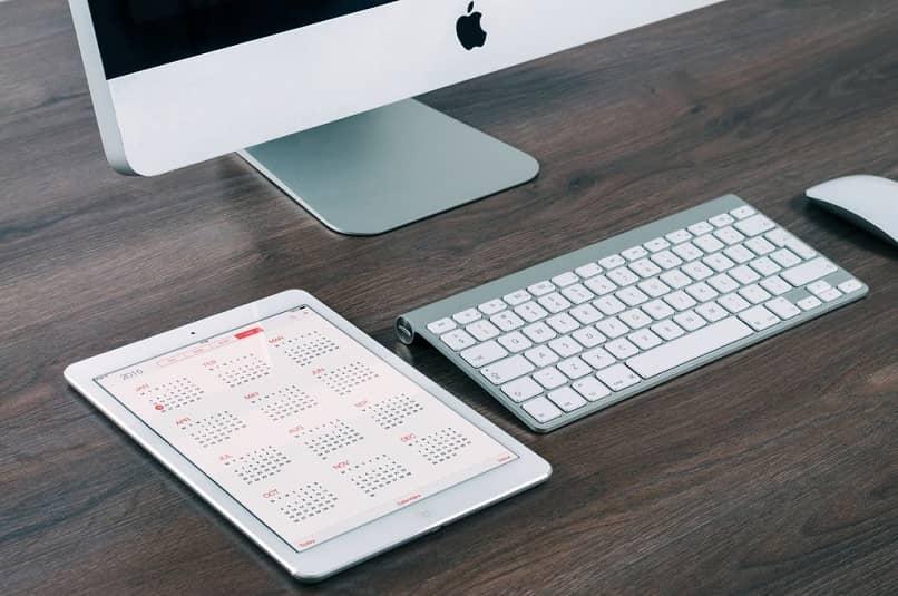 Computadora y tableta Apple Mac