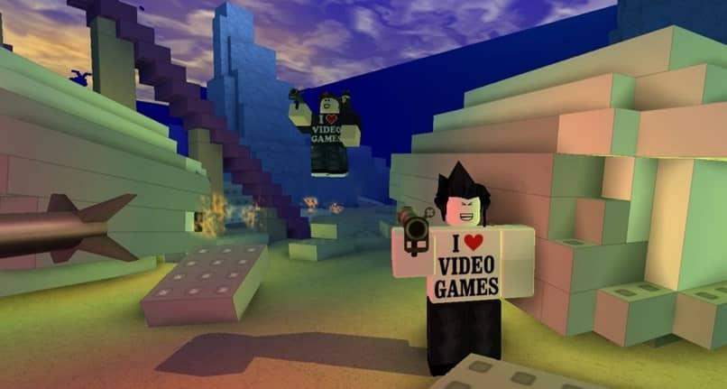 videojuego de personajes roblox