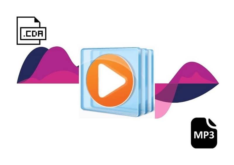Los archivos CDA y MP3 se convirtieron con Windows Media Player