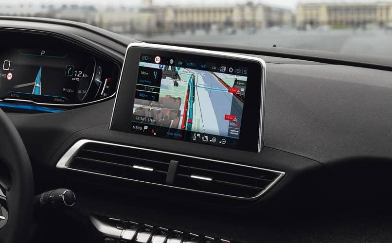 GPS incorporado para coche