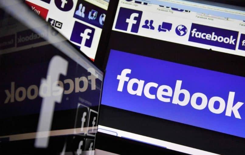pantallas de facebook