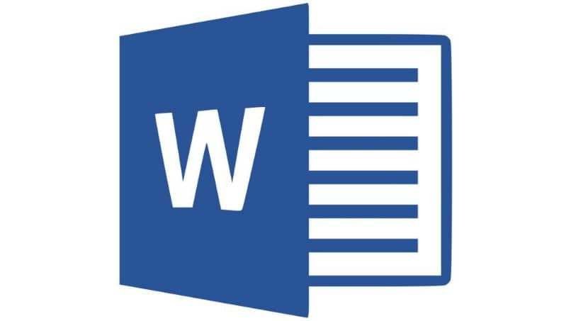Logotipo de Word simple
