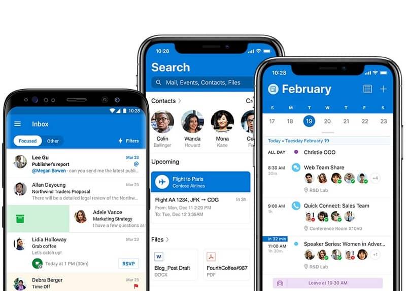 prospectos en Android