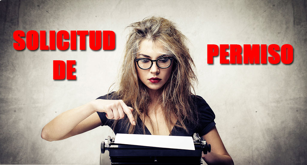 escribir una carta de permiso