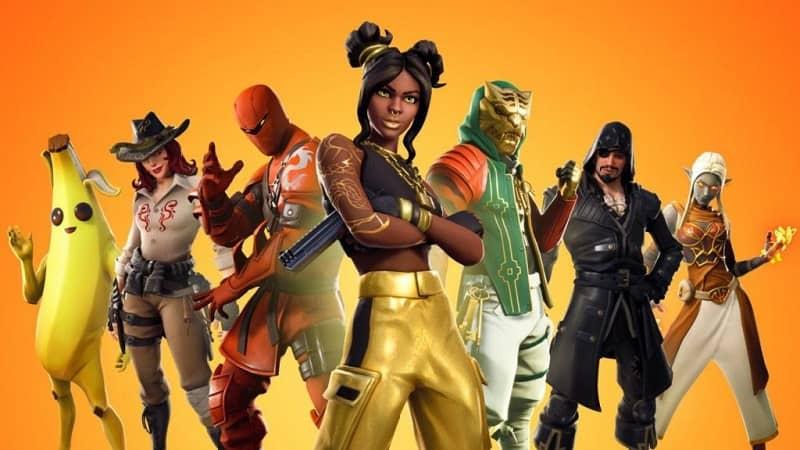 Personajes personalizados de Fornite