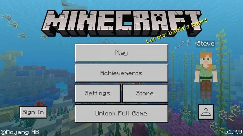 Ver el nivel en Minecraft