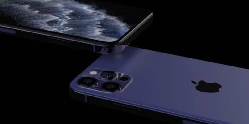 estructura de la cámara del iphone