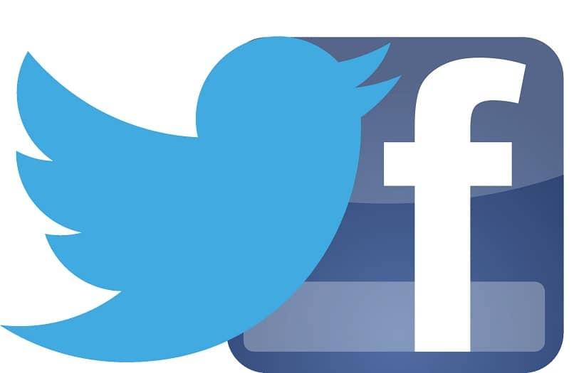conectar cuentas de facebook y twitter