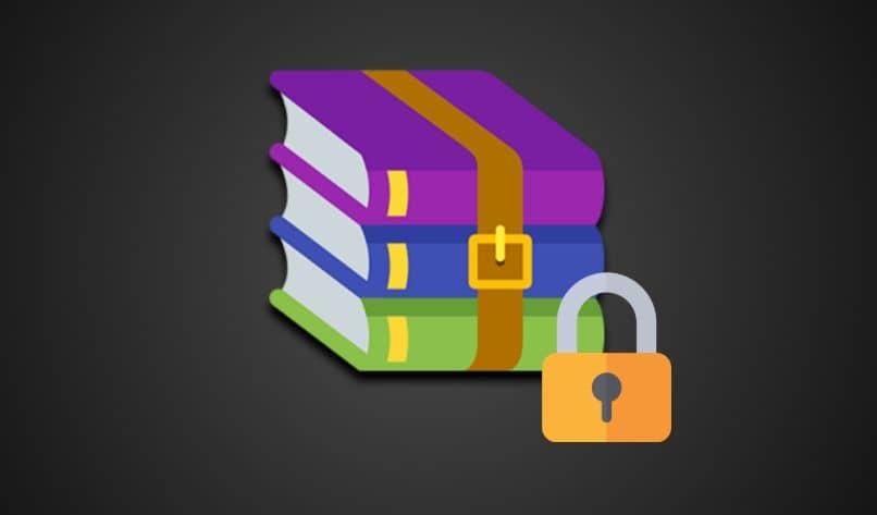 libros atados correa de candado