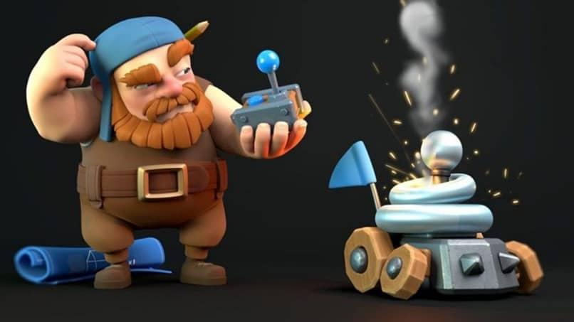 error de personaje clash royale