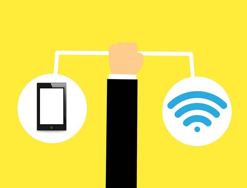 interrupción de internet inalámbrico