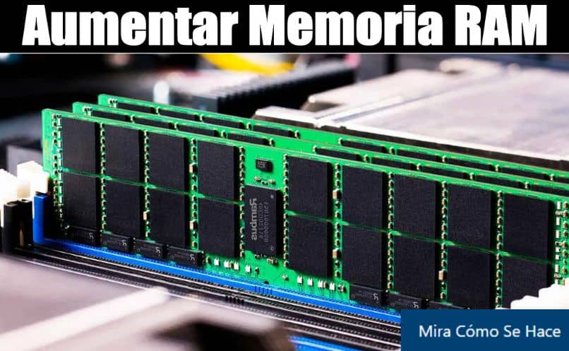 circuitos de memoria ram de computadora