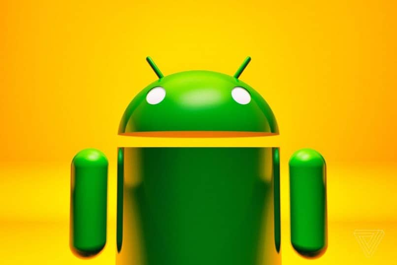 Robot verde Android
