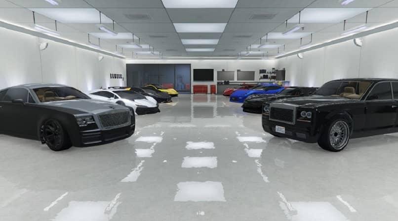 coches de garaje