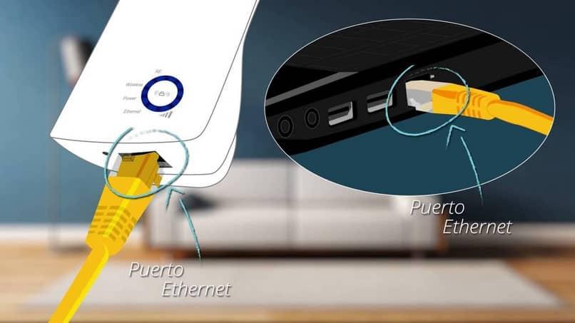 cable de internet de puerto directo