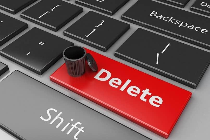 botón eliminar