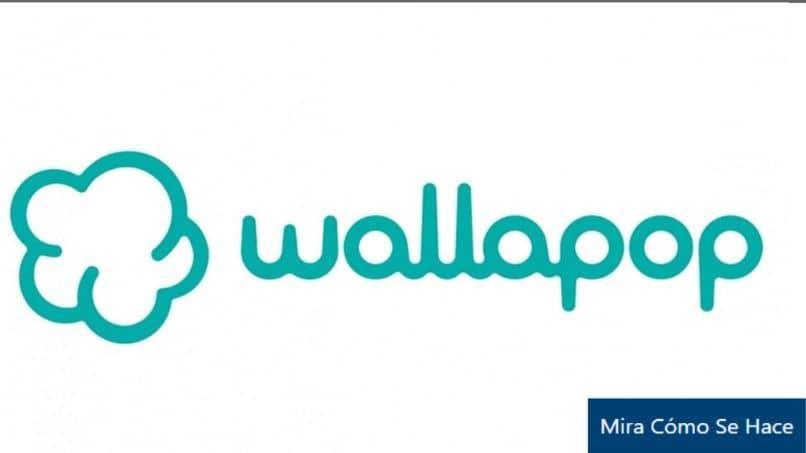 wallapop logo fondo blanco
