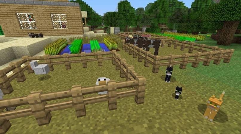 granja original de minecraft