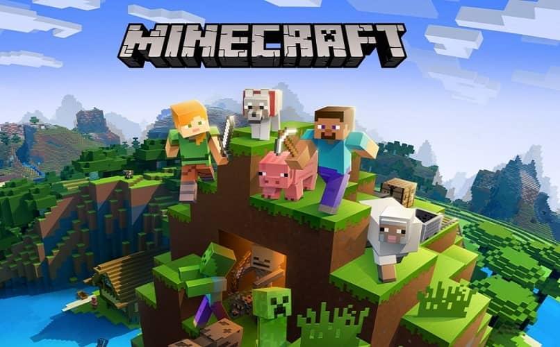 pantalla de windows original de minecraft