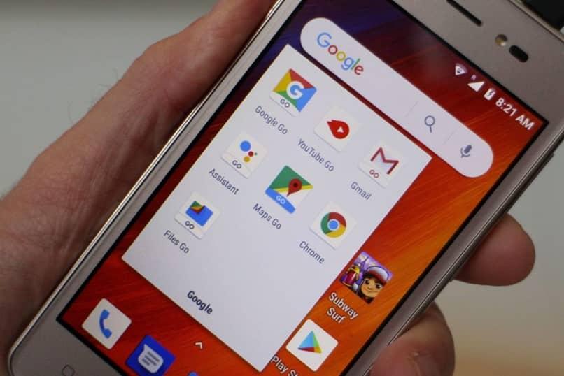 Pantalla de Android