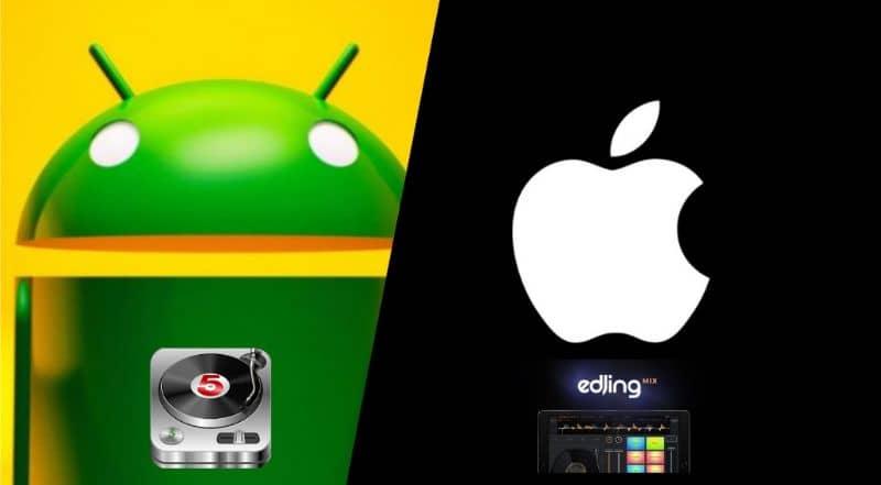 Logotipo de Android, manzana