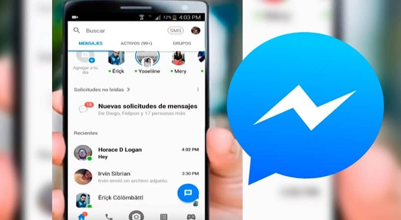 ¿Cómo sé quién está usando Facebook Messenger?