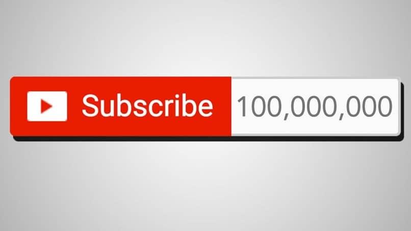 botón rojo suscribirse a youtube