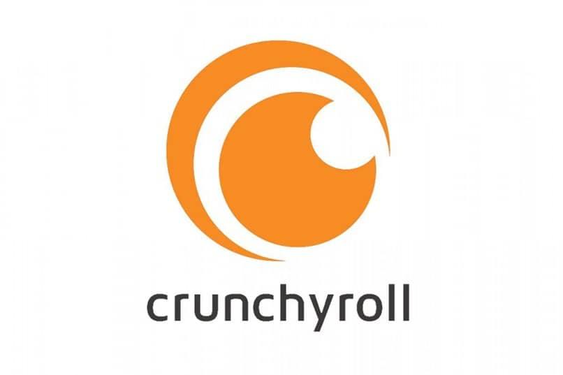 logo de crunchyroll naranja