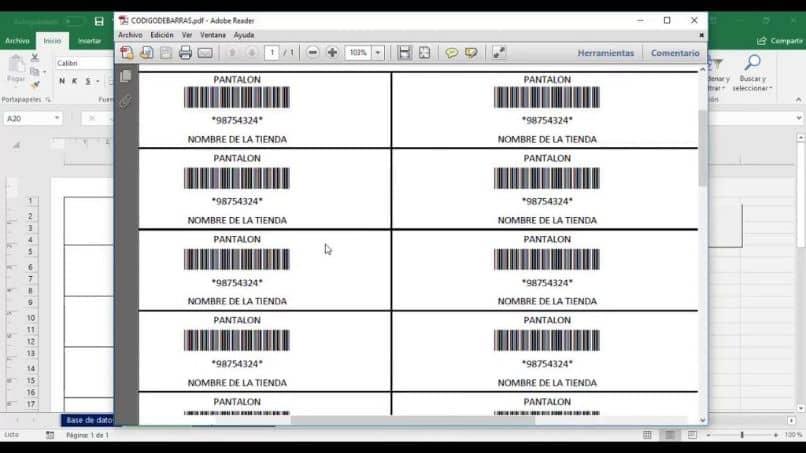 crear código de Excel