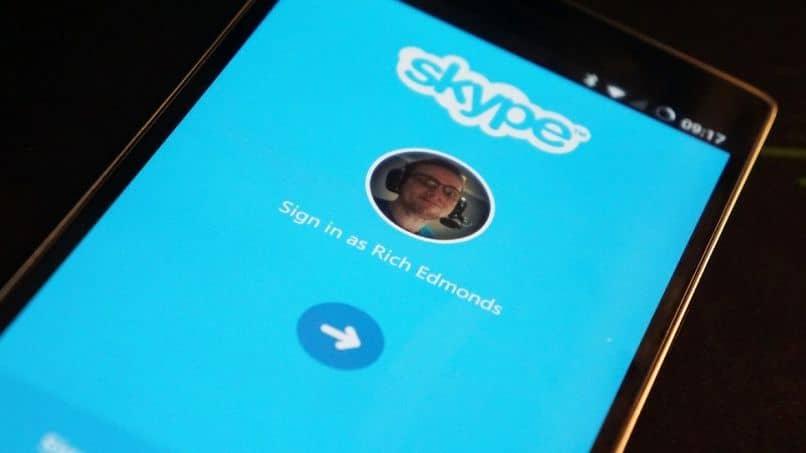Sin descarga de skype