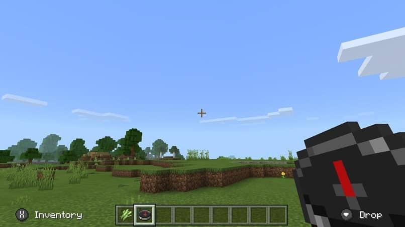 ver cielo brújula minecraft