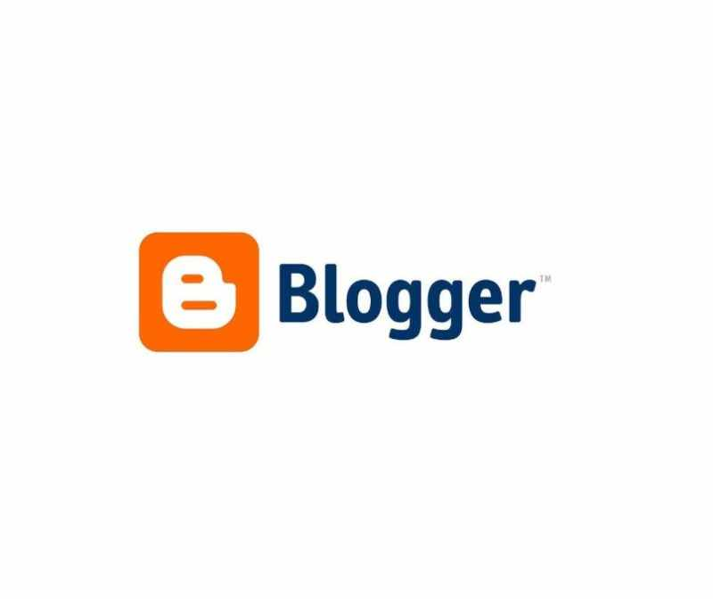 Logotipo de Blogger con fondo blanco