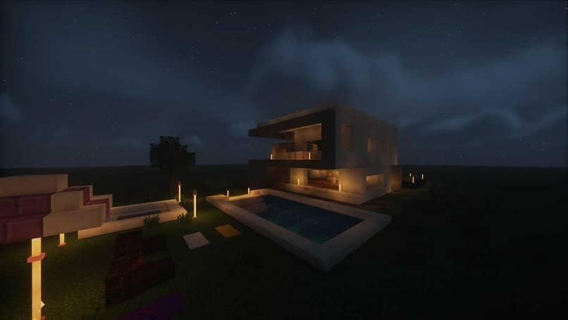 el estilo de la casa de hormigón moderna que puedes crear