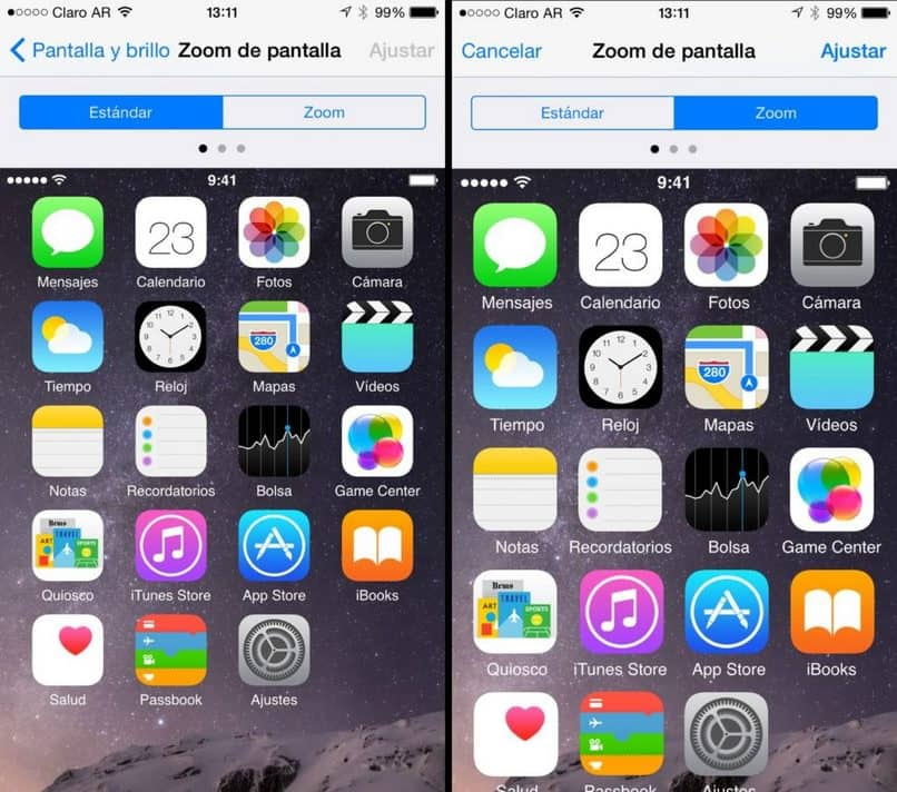 aplicación para iphone de doble pantalla