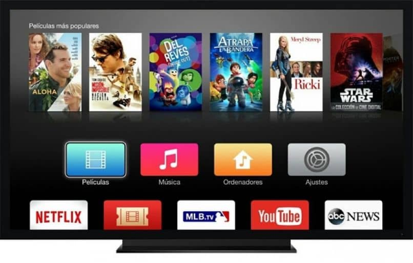 Capturas de pantalla de Smart TV
