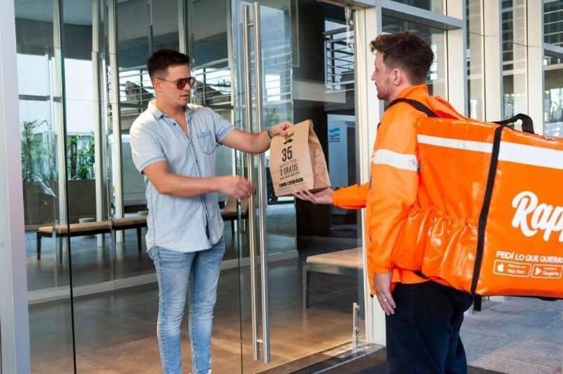 orden de entrega de comida rappi