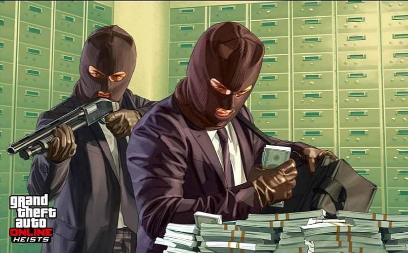 ladrones de bancos de gta 5