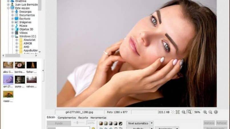Tratamiento facial femenino