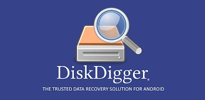 aplicación diskdigger para recuperación de datos