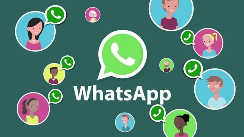 logo y contactos de whatsapp
