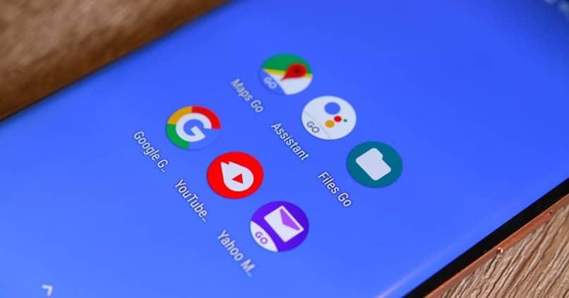 Aplicaciones de Android go