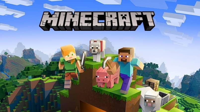 personajes del juego de minecraft