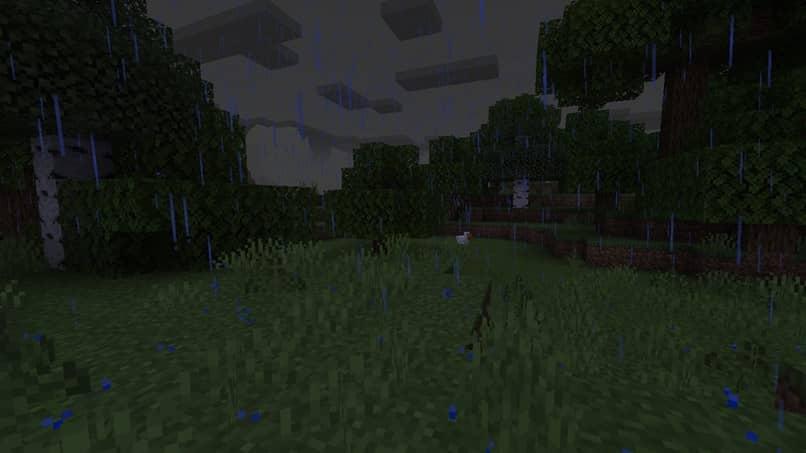 paisajes de árboles de minecraft