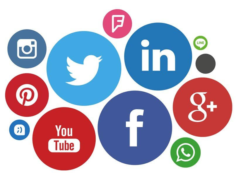 círculos de redes sociales