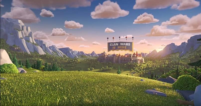 paisajes nubes clash royale