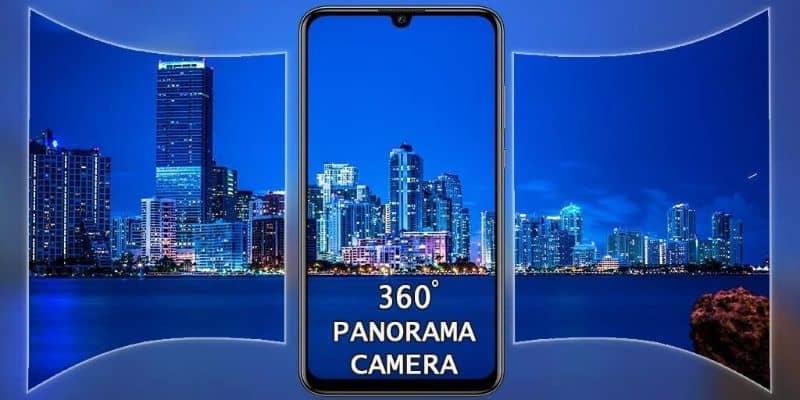 video móvil y 360 grados en la ciudad