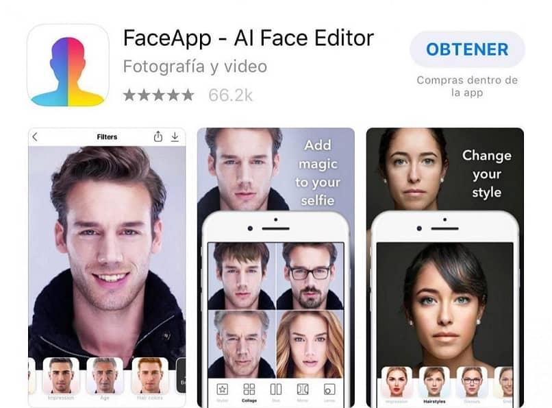 aplicación de tratamiento facial